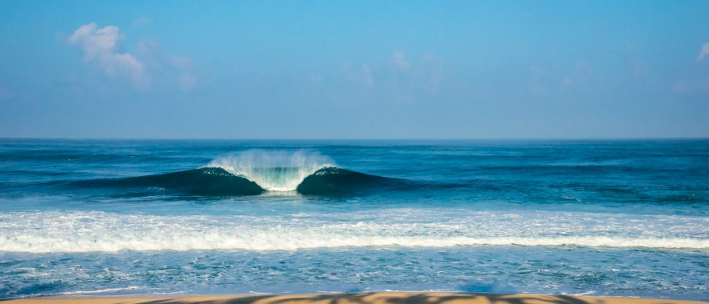 Onda Quebrando, Pipeline, Hawaii - EUA
