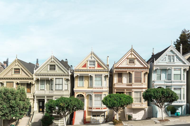 Painted Ladies, San Francisco, Califórnia - USA